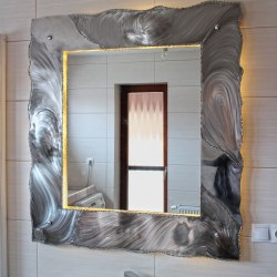 Stainless steel mirrors - luxury mirrors