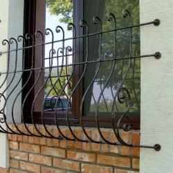 Forged grilles