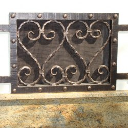 Forged grilles and covers