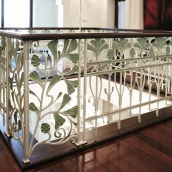 Interior handrails - wrought iron handrails