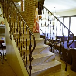 Interior handrails - A staircase railing - Crazy