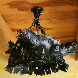 forged lamp